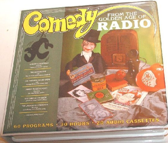 COMEDY FROM THE GOLDEN AGE OF RADIO 19 AUDIO CASSETTES