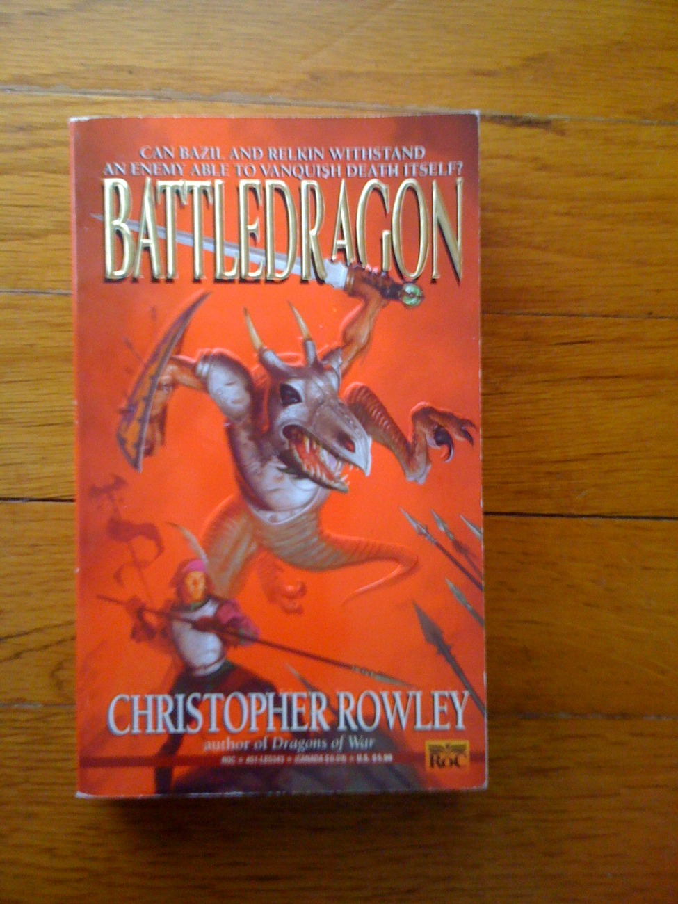 Battledragon by Christopher Rowley pb 1995