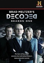Brad Meltzers Decoded Complete First Season 1 One Series TV Show DVD Set... - $28.70