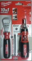 Milwaukee 48-22-2302A 10-in-1 Ratchet/Driver With Bottle Opener - $13.86