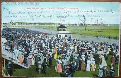 1906 PC Woodbine Race Track, Toronto, Ontario, Canada