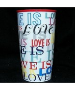 Starbucks Holiday 2017 Ceramic Double Wall Love Is 12 oz Coffee Travel T... - $49.99