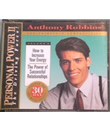 ANTHONY ROBBINS HOW TO INCREASE YOUR ENERGY 2 CD SET - $3.00