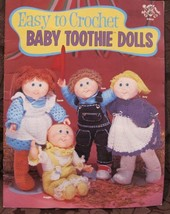 Easy To Crochet BABY TOOTHIE DOLLS Crochet Patterns VINTAGE - $9.95