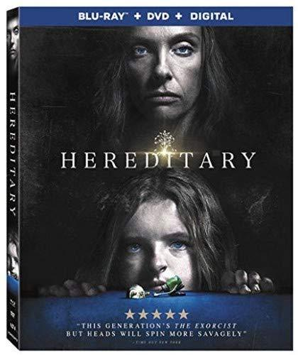 Hereditary (Blu-ray + DVD + Digital, 2018)