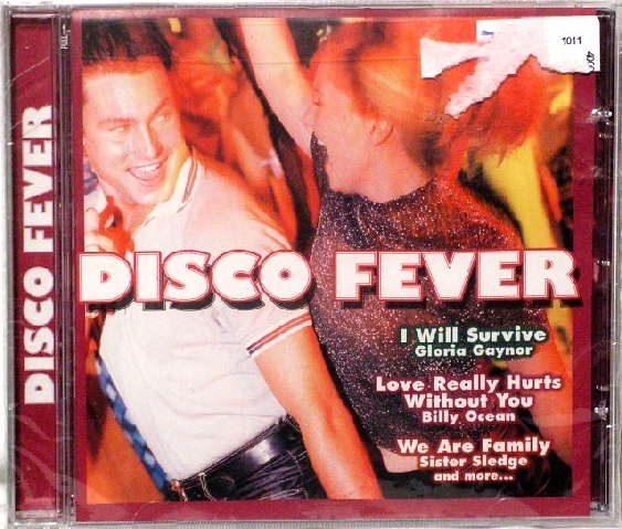 "DISCO FEVER CD 12 SELECTIONS NIS ""I WILL SURVIVE"" ETC"