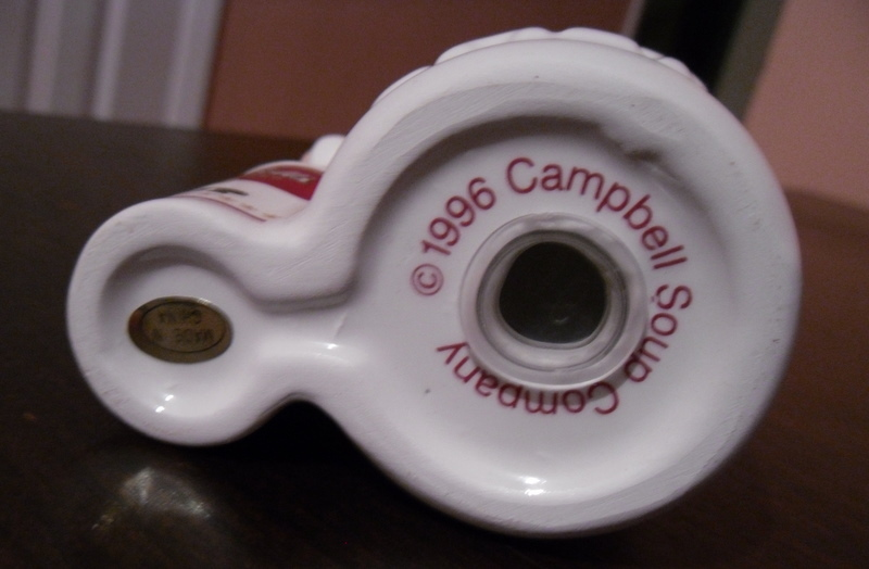 Campbell's Collector Edition Kitchen Satl & Pepper Shaker