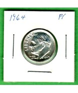 1964 Silver Roosevelt dime proof - $4.00