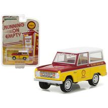 1967 Ford Bronco Shell Oil 1/64 Diecast Model Car by Greenlight 41020B - $13.15