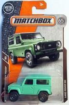Matchbox 2018 118/125 Off Road Green Land Rover 90 - $5.45