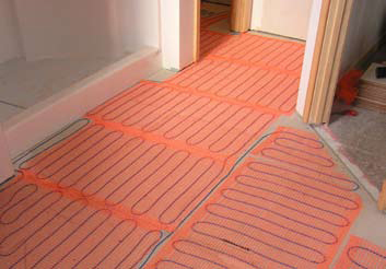 SunTouch Floor Heating Mats 30 sq