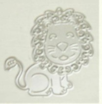 Lion Die - PERFECT FOR CARD MAKING!  BABY MINI ALBUMS!