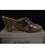 WOMAN SHOES, RSVP (PERRIE) Golden Pewter, Sizes, 9 and 10 - $10.00