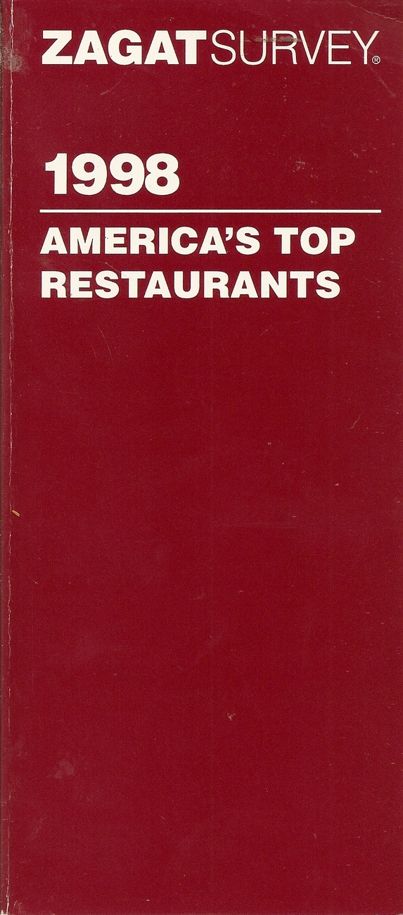 Zagat Survey 1998 America's Top Restaurants (Serial)