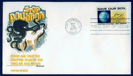#1410 6c Save Our Soil, Fleetwood FDC ANY 4= - $1.22