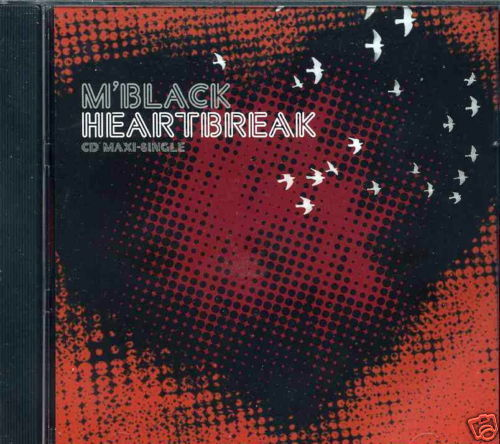 M'Black Heartbreak 10 Track Promo CD Remixes