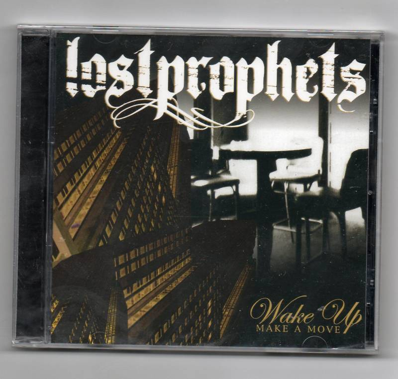 Lost Prophets Wake UP Promo CD Single