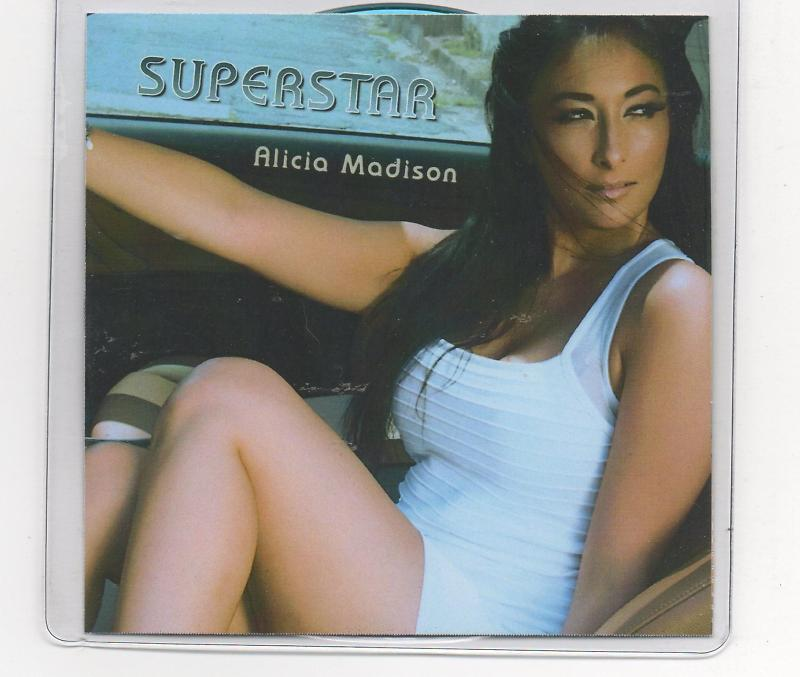Alicia Madison Superstar 5 Track Promo CD Mig & Rizzo