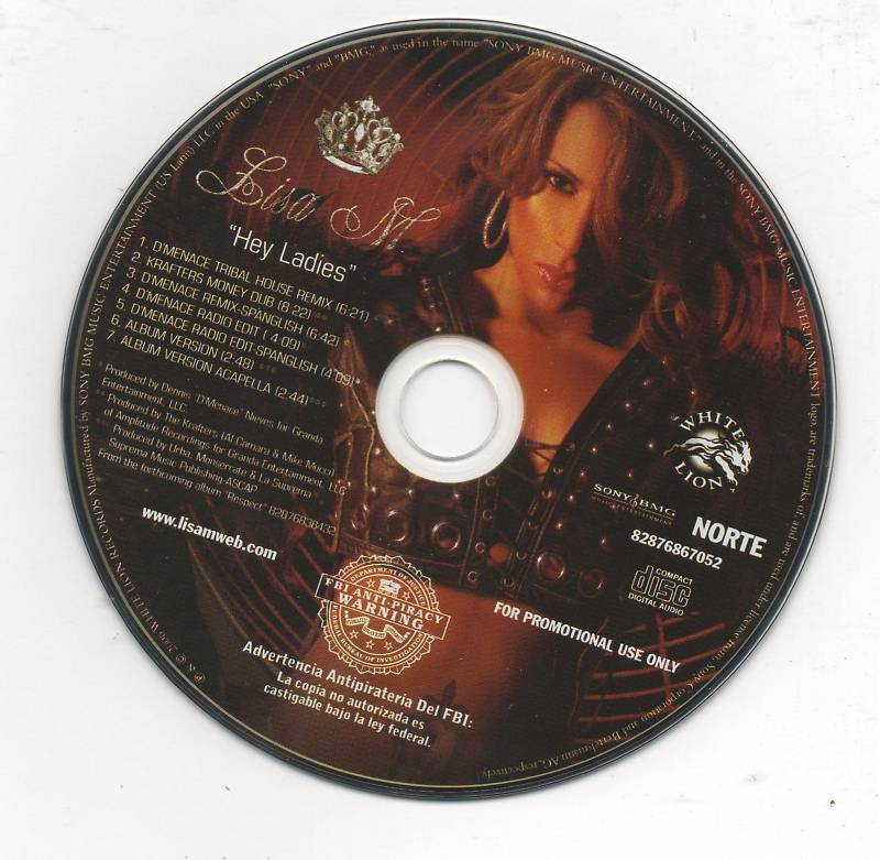 Lisa M Hey Ladies 7 Track Promo CD Remixes