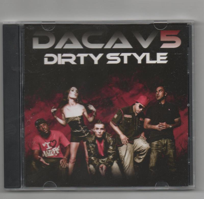 Dacav5 Dirty Style 2 Track Promo CD