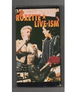 Roxette Live-Ism VHS 1992 World Tour Rare U.S. Release  - $9.99