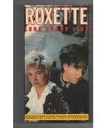 Roxette Look Sharp Live (VHS, 1989) - $9.29