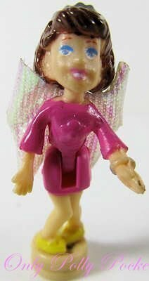 2001 Polly Pocket Doll  Diamond Wonderland - Fairy Lila