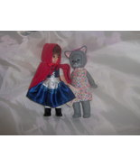 Madame Alexander Little Red Riding Hood and Wol... - $4.99