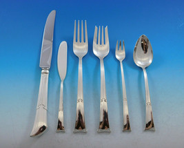 Linenfold by Tiffany & Co. Sterling Silver Flatware Service 8 Set 52 pieces - $7,995.00