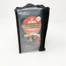 Kiwi Leather Care Kit Shoe Repair Boot Cleaner Cream Wax Polish Black & ... - $24.20