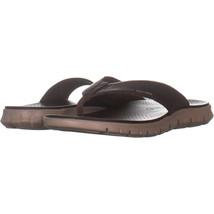 Cole Haan Zerogrand Sandal Slide Platform Sandals 209, Brown, 12 US - $40.31