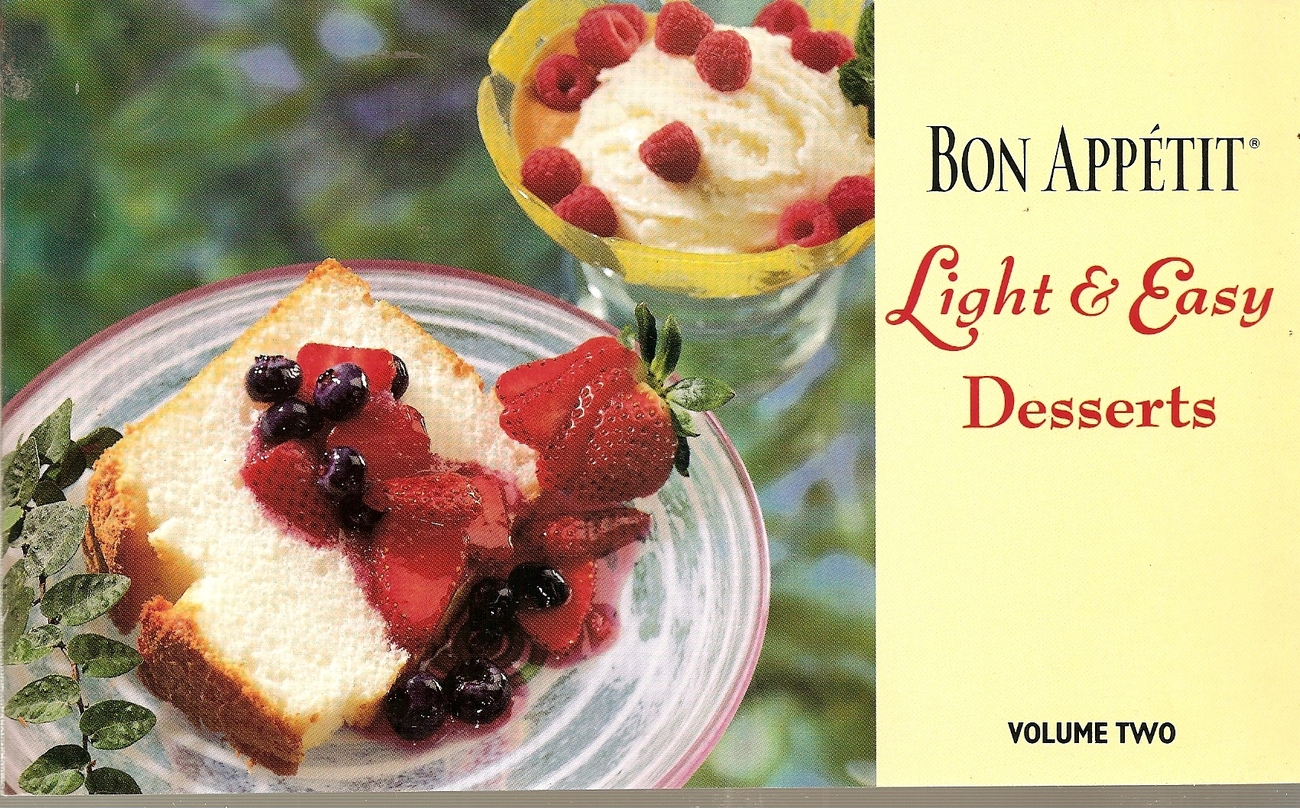 Bon Appetit  LIGHT & EASY DESSERTS VOL TWO