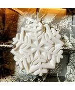 "1989 MARGARET FURLONG 2"" Snowflake Shape Ornament ""A WINTER JEWEL"" With Box - $14.85"