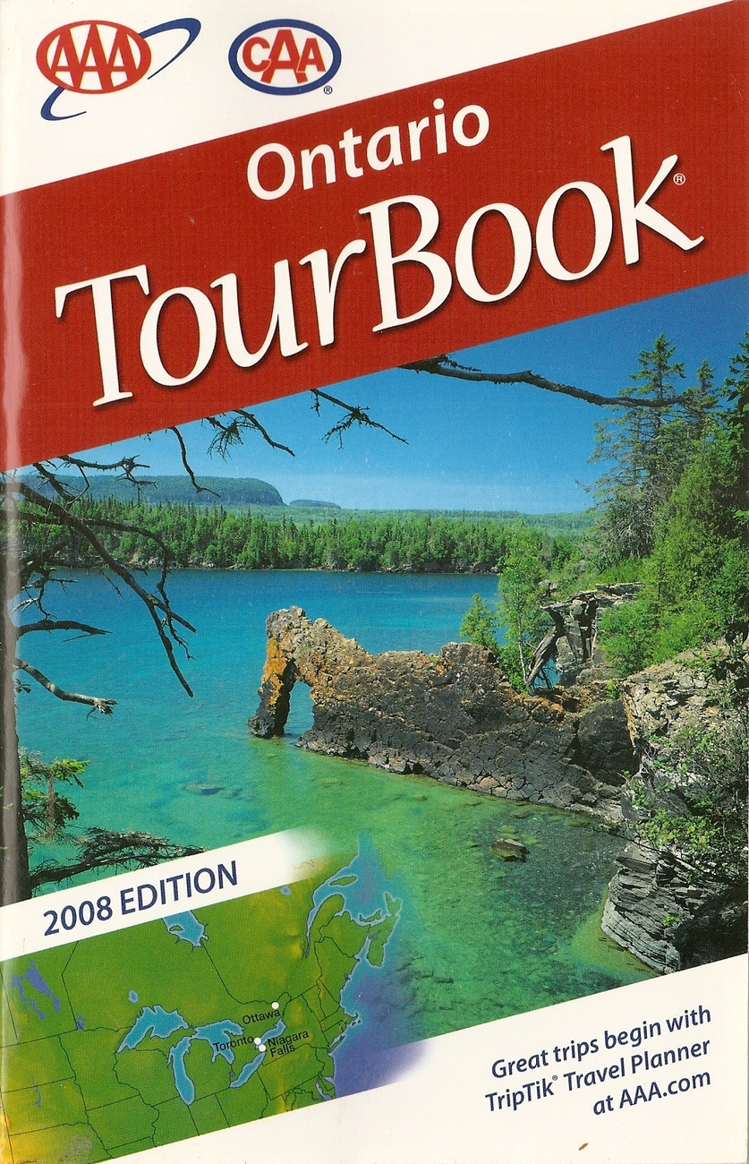 AAA ONTARIO TOUR BOOK 2008
