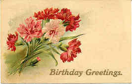 Greetings Paul Finkenrath of Berlin 1908 Post Card - $6.00