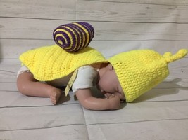 Snail Newborn Baby Crochet Knit Costume Photography Outfit - $15.67