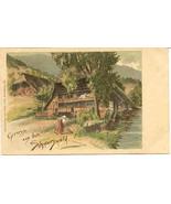 Gruss aus dem Schwarzwald Post Card  - $15.00