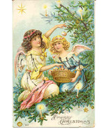 Merry Christmas 1906 German Post Card - £4.58 GBP