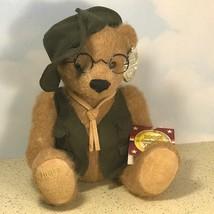 VINTAGE COLLECTOR CHOICE DAN DEE TEDDY BEAR NEW TAGS 100TH ANNIVERSARY G... - $31.64
