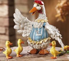 4 Pc. Duck Family Garden Figurines New - $19.50