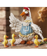 4 Pc. Duck Family Garden Figurines New - $19.50