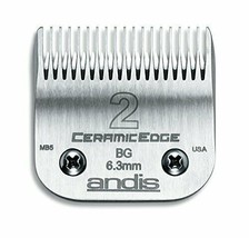 Andis 63030 CeramicEdge Carbon-Infused Steel Clipper Blade, Size 2, 1/4-... - $43.63