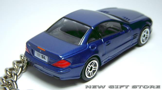 KEY CHAIN 2005/2006/2007/2008 BLUE MERCEDES SL500 SL 55