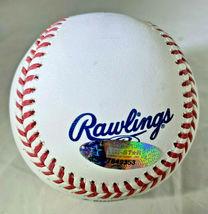 CAL RIPKEN JR / MLB HALL OF FAME / AUTOGRAPHED OML BASEBALL IN CUBE / TRISTAR image 4
