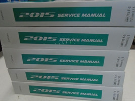 2015 GM Chevy Camaro Workshop Service Shop Repair Manual SET NEW 2015 OEM - $584.09
