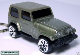 KEY CHAIN RING 2004~2008 SILVER JEEP WRANGLER 4X4 SUV TRUCK - $39.97