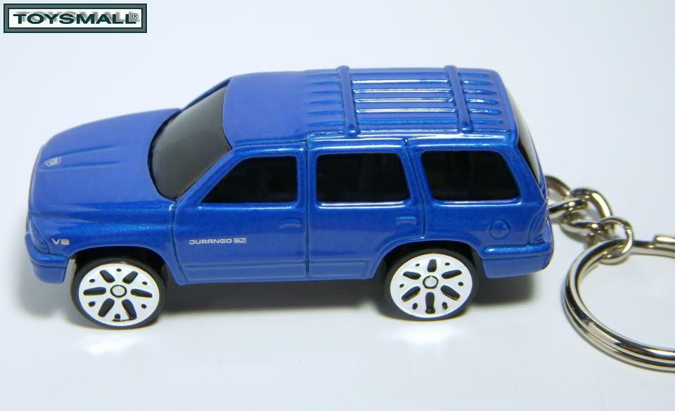 KEY CHAIN RING 2001~2002~2003~2004 DODGE DURANGO BLUE SLT