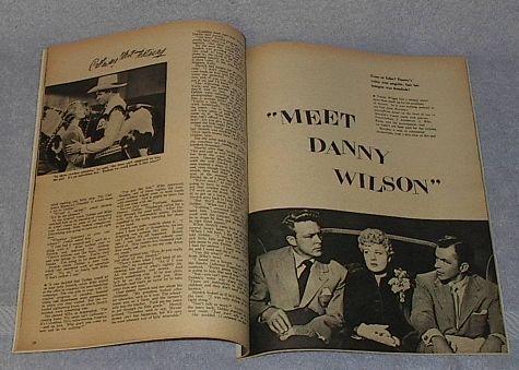 Dell Screen Stories Movie Magazine January 1952 Sinatra Cooper