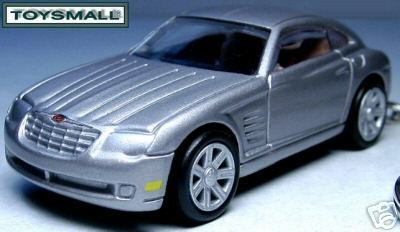 KEY CHAIN 2005/2006/2007/​2008 SILVER CHRYSLER CROSSFIRE