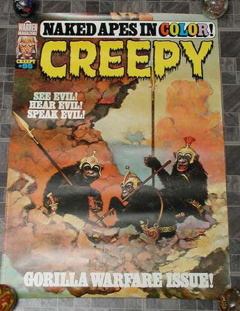 Creepy #95 Monster Magazine Poster 1977